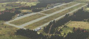 Northwest Airfield - Aerial