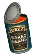 Canned Baked Beans (Open)