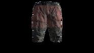 Canvas Pants Short (Red) Model (D-BD)