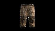 Beige Canvas Pants Model (P-W)