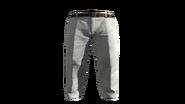 White Slacks Pants Model (P-W)