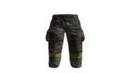 Black Fire-fighters Pants Model (D-BD)