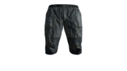 Canvas Pants Short (Blue) Model (P-W)