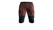 Canvas Pants Short (Red) Model (P-W)