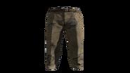 Beige Slacks Pants Model (D-BD)