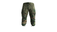 Summer Camouflage Gorka Military Pants Model (P-W)