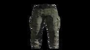 Green Cargo Pants Model (D-BD)