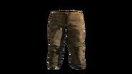 Leather Pants Beige Model (R)