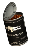 Can of Tactical Bacon (Open)