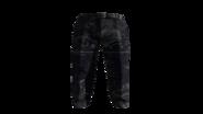 Blue Slacks Pants Model (D-BD)