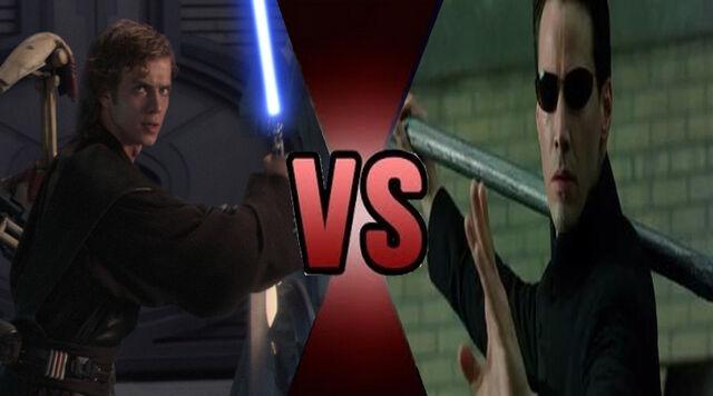 File:Death Battle Anakin Skywalker vs Neo 2.jpg