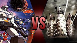 Death Battle Decepticons vs Daleks 2