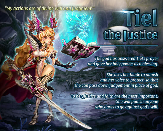Tiel the Justice release poster