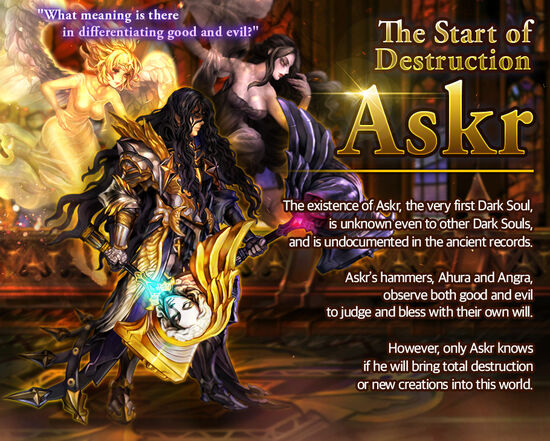 Dark Soul Askr release poster
