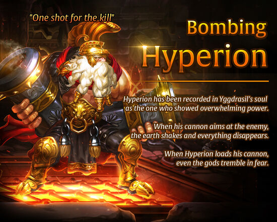 Bombing Hyperion release poster