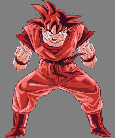 File:Goku Kaioken by SilverAngels07.jpg