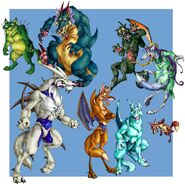 Shenron Wolves by chalicothere
