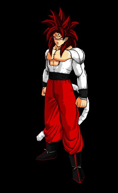 SS4 Majin Goku