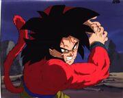 Goku ss4 super xhameha