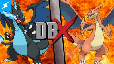Mega Charizard X vs. Mega Charizard Y