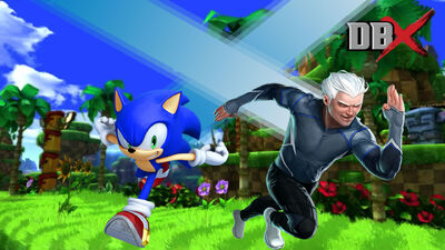 Sonic vs Quicksilver Render