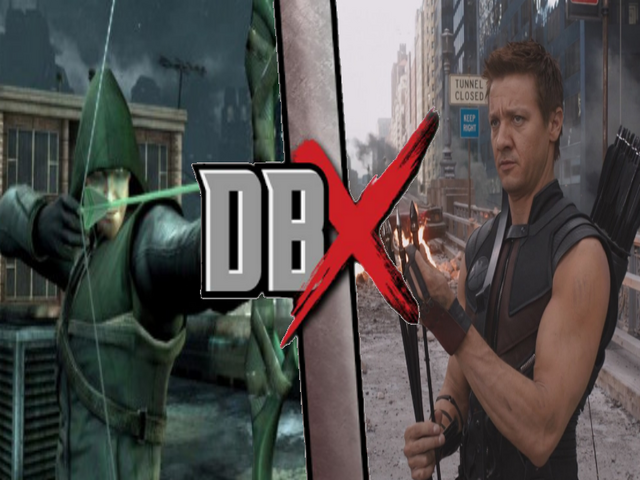 File:Hawkeye vs green arrow.png