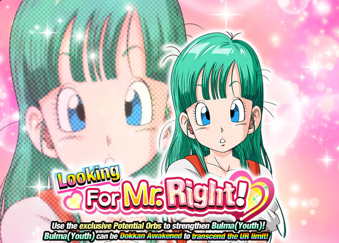 Event Bulma mr right big