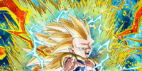 Number One Maverick of the Universe Super Saiyan 3 Gotenks