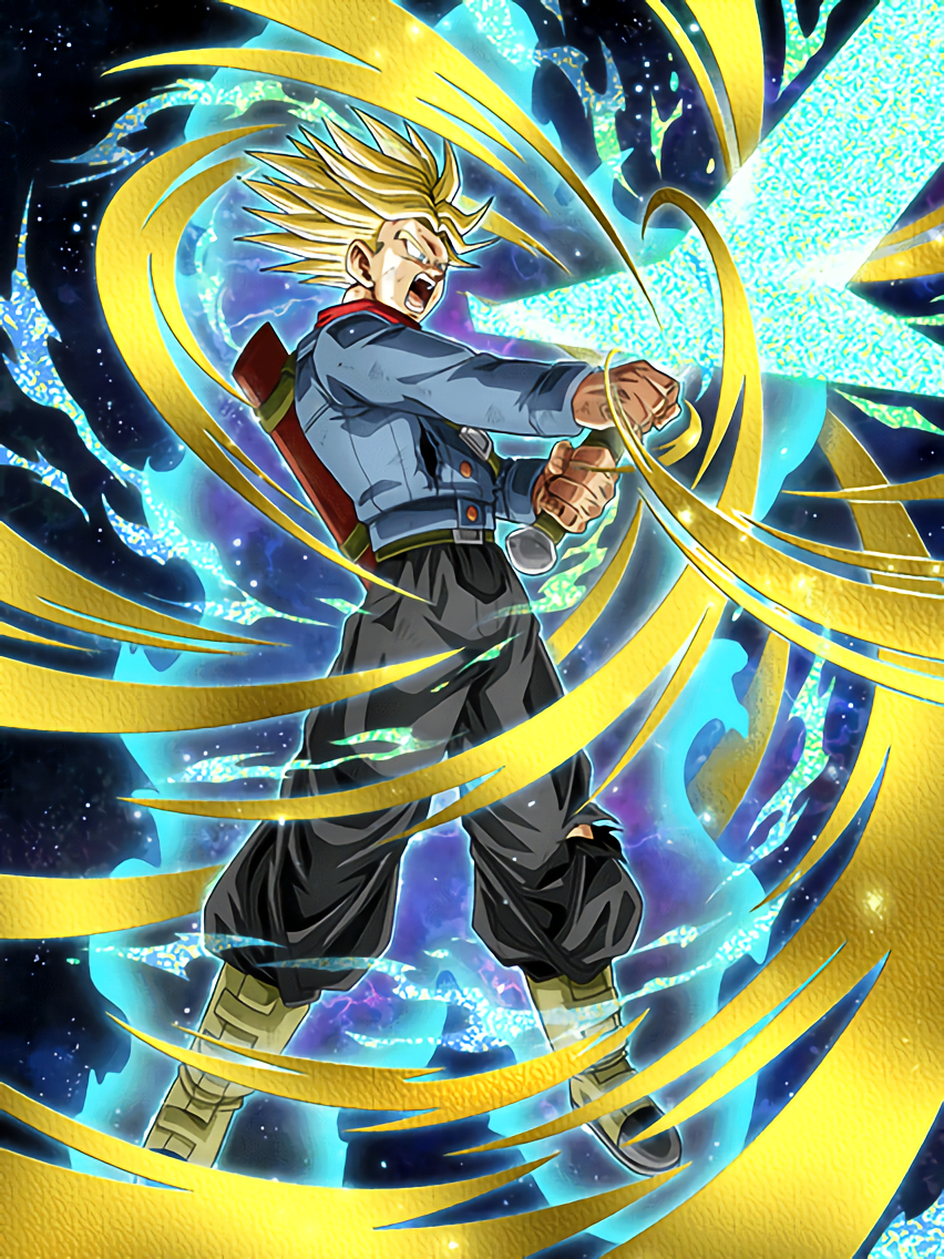 Blade of Hope and Dreams Super Saiyan Trunks (Future ...