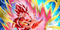 Burning to the Last Super Saiyan Goku (Angel) (Super Kaioken)