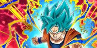 Indomitable Battle Lust Super Saiyan God SS Goku