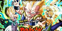 Rare Summon: Super Saiyan 3 Gotenks Dokkan Festival