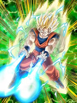 Powerful Offense Super Saiyan 2 Goku