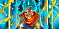 Divine Evolution Super Saiyan God SS Goku