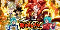 Rare Summon: Super Saiyan 4 Gogeta Dokkan Festival