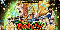Rare Summon: Super Saiyan 3 Goku Dokkan Festival