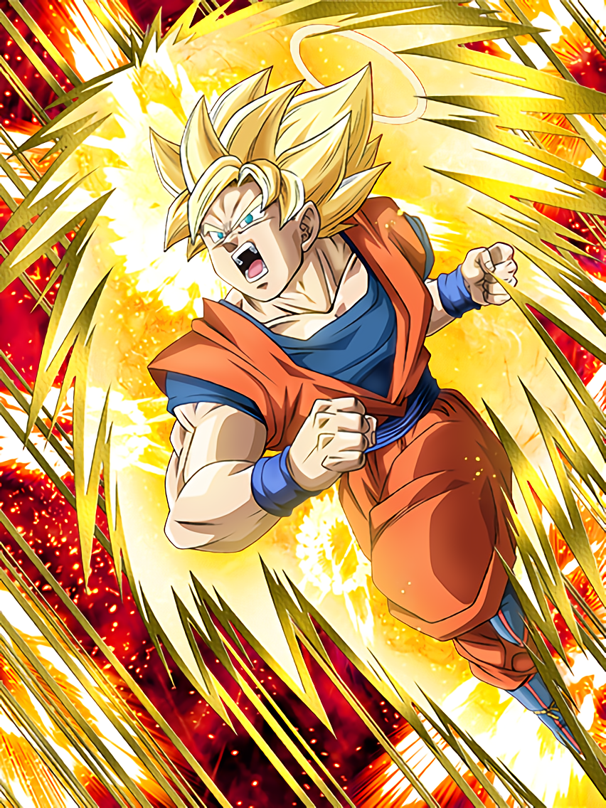Flawless technique super saiyan goku angel dragon ball - Goku 5 super saiyan ...