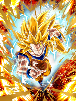The Power to Shake the Universe Super Saiyan 3 Goku