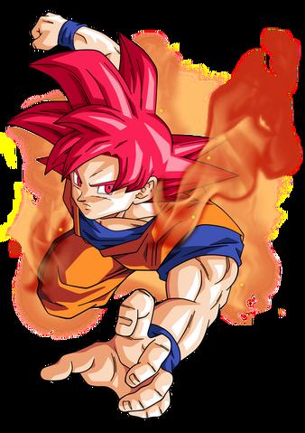 File:Goku super saiyan god by bardocksonic-d7ppcr2.png