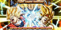 Rare Summon: Full Power! Super Saiyans Assemble!