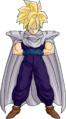 Teen gohan with cape by db own universe arts-d3jptex