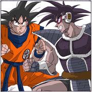 Goku vs Turles