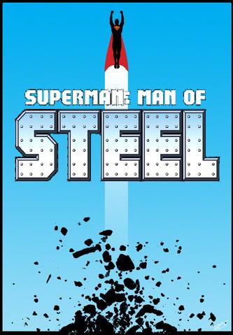 File:SUPERMAN MAN OF STEEL poster.png