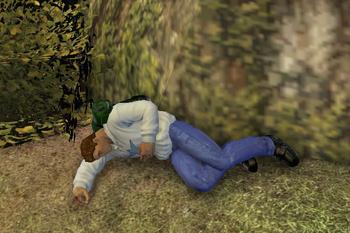 Adrian Asleep