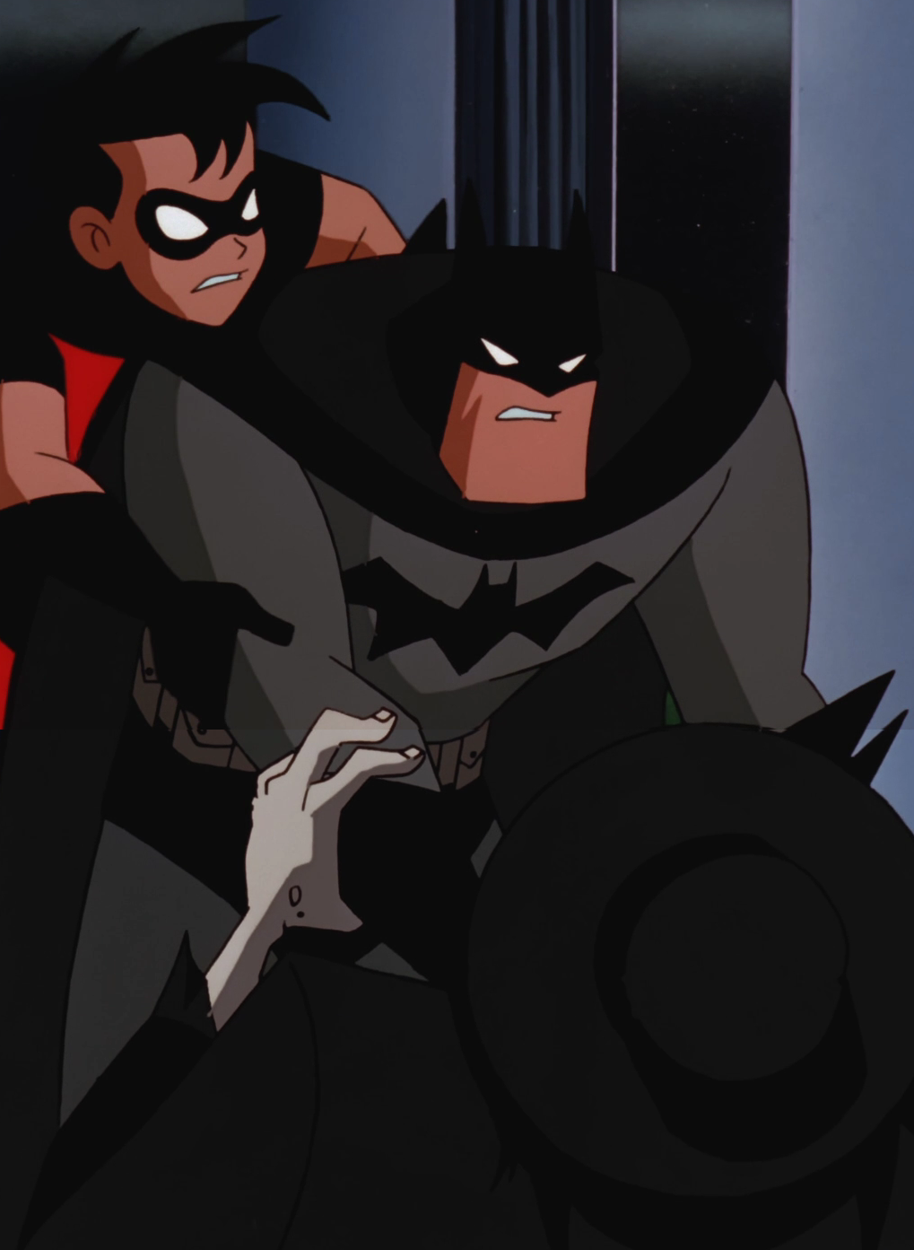 File:Batman strangles the Scarecrow.png