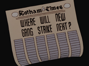 Newspapers new gang