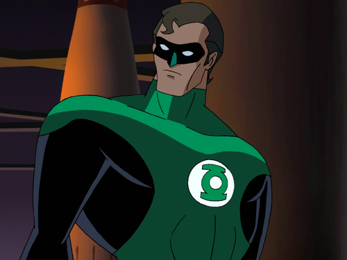 Image result for Green Lantern of the DCAU, was replaced by Hal Jordan