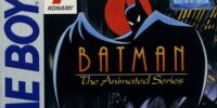 Batman: The Animated Series (video game)
