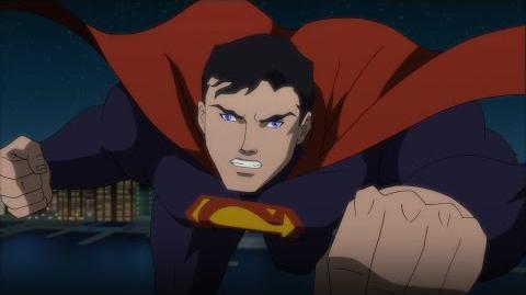 "Justice League vs. Teen Titans clip ""JL vs. Trigon Weather Wizard"""