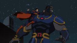 Superman vs Darkside